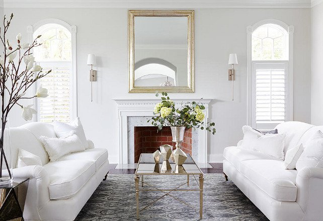White Paint Guide for Living Room Decorating White sofas Decorating Living Room Zion Star