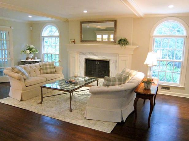 White Traditional Living Room Refined Elegance In White Traditional Living Room