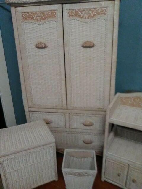 White Wicker Bedroom Furniture 12 Pcs White Wicker Bedroom Furniture