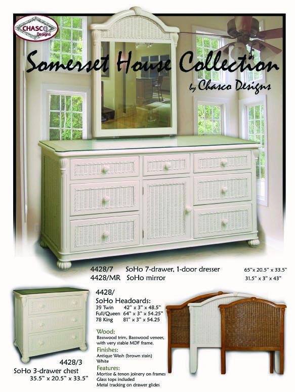 White Wicker Bedroom Furniture soho White Wicker Bedroom Furniture by Schober