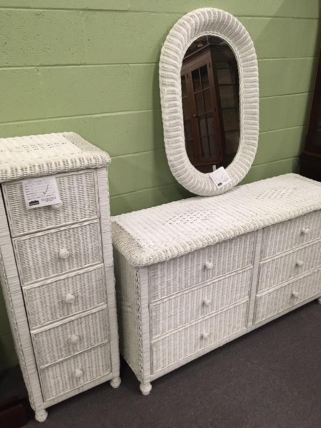 White Wicker Bedroom Furniture Store News