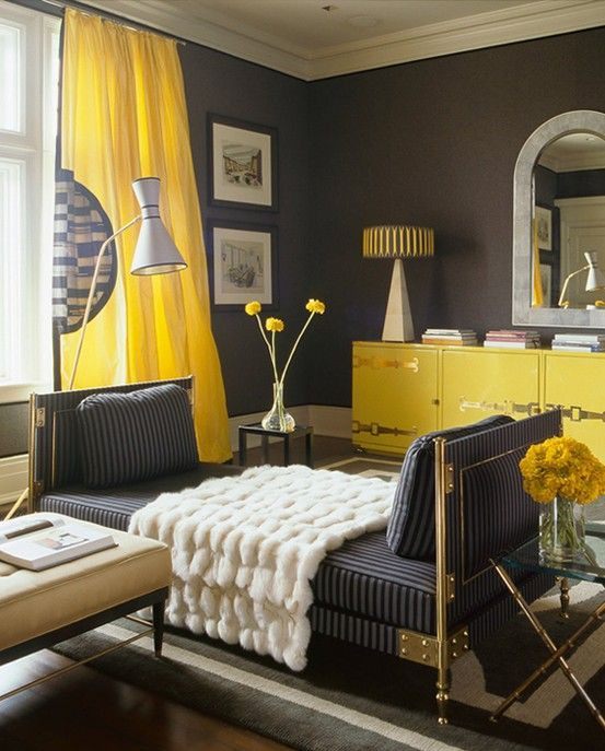 Yellow and Gray Bedroom Decor Amazing Yellow and Grey Room Gray Bedroom Decorating Idea