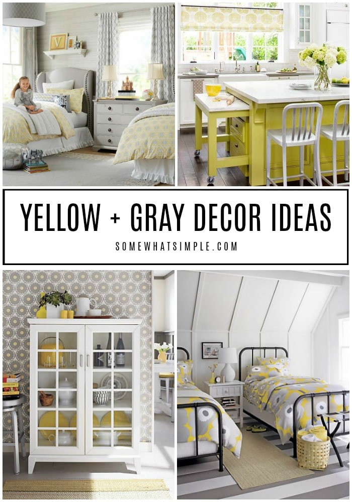 Yellow and Gray Bedroom Decor Decorating with Yellow and Gray 20 Spaces We Love