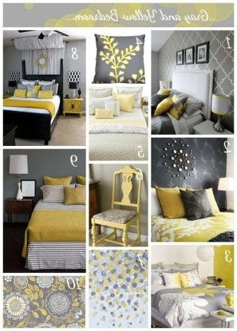 Yellow and Gray Bedroom Decor top 10 Bedroom Decorating Ideas Yellow and Gray top 10