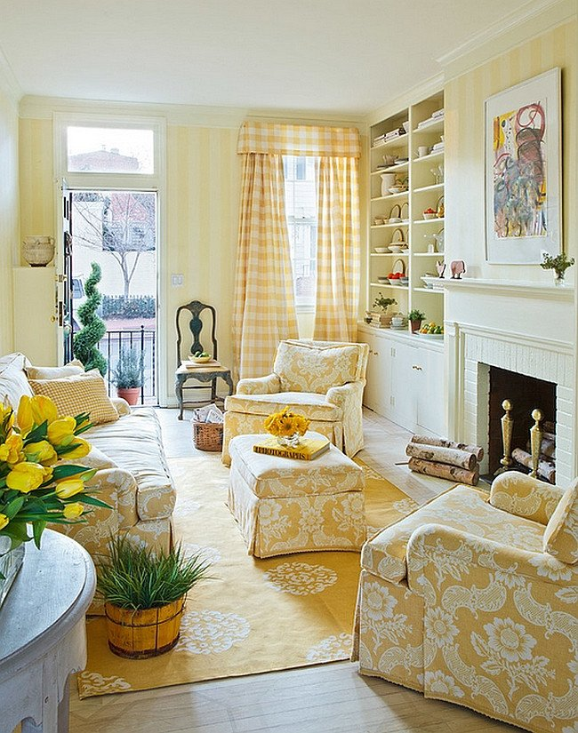 Yellow Decor for Living Room 20 Yellow Living Room Ideas Trendy Modern Inspirations