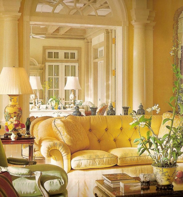Yellow Decor for Living Room Eye for Design How to Create Beautiful Yellow Rooms