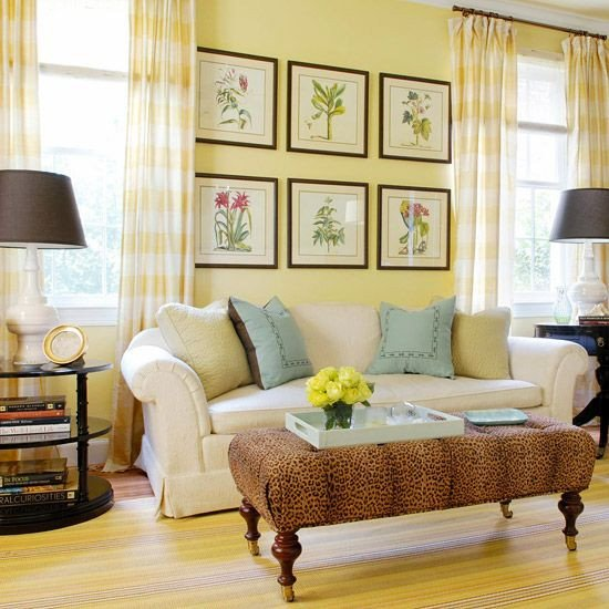 Yellow Decor for Living Room How to Decorate Your Living Room with Cheery Yellow
