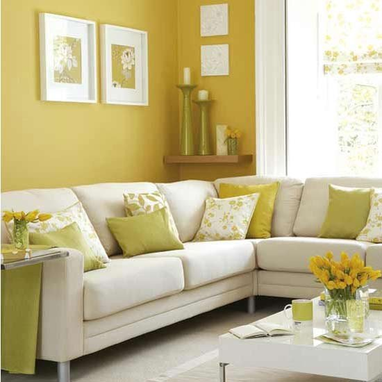 Yellow Decor for Living Room Sunny Yellow Living Room Decorating Ideas