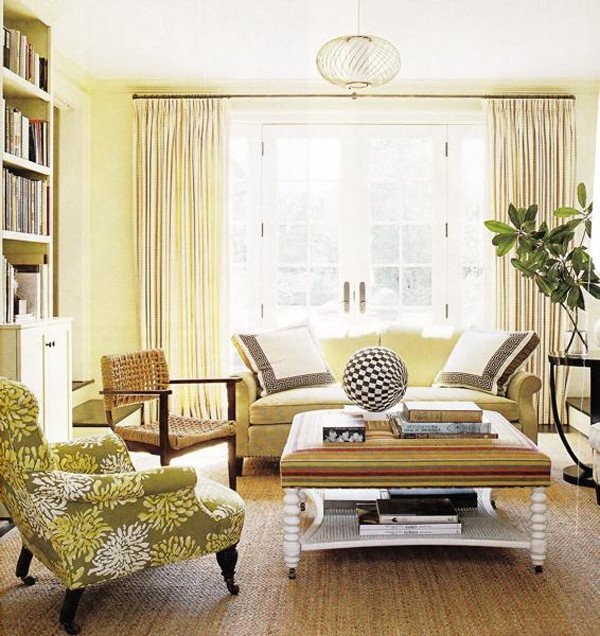 Yellow Decor for Living Room Sunny Yellow Living Room Design Ideas