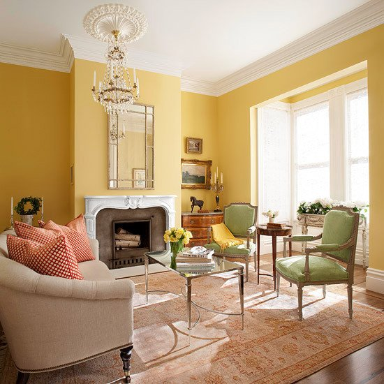 Yellow Decor for Living Room Yellow Living Room Design Ideas