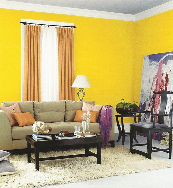 Yellow Decor for Living Room Yellow Living Room Designs