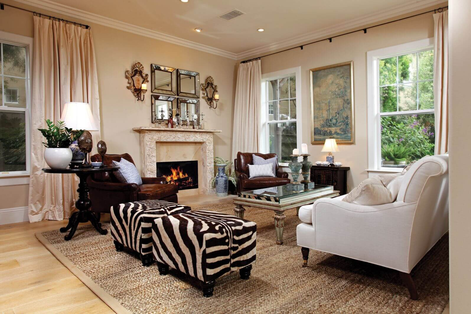 Zebra Decor for Living Room 17 Zebra Living Room Decor Ideas