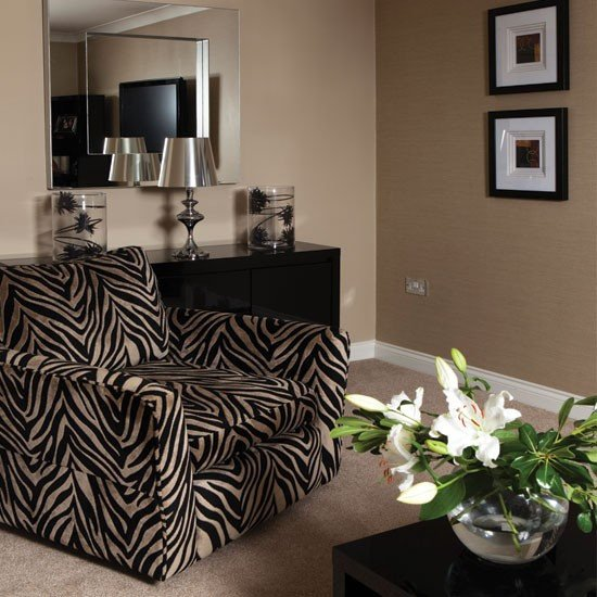 Zebra Decor for Living Room Bold Zebra Print Living Room Living Room