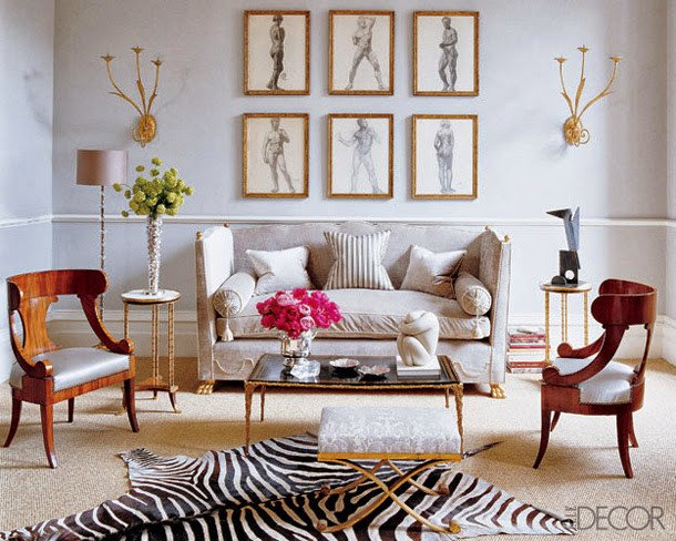 Zebra Decor for Living Room Eye for Design Decorating with Zebra Rugs A