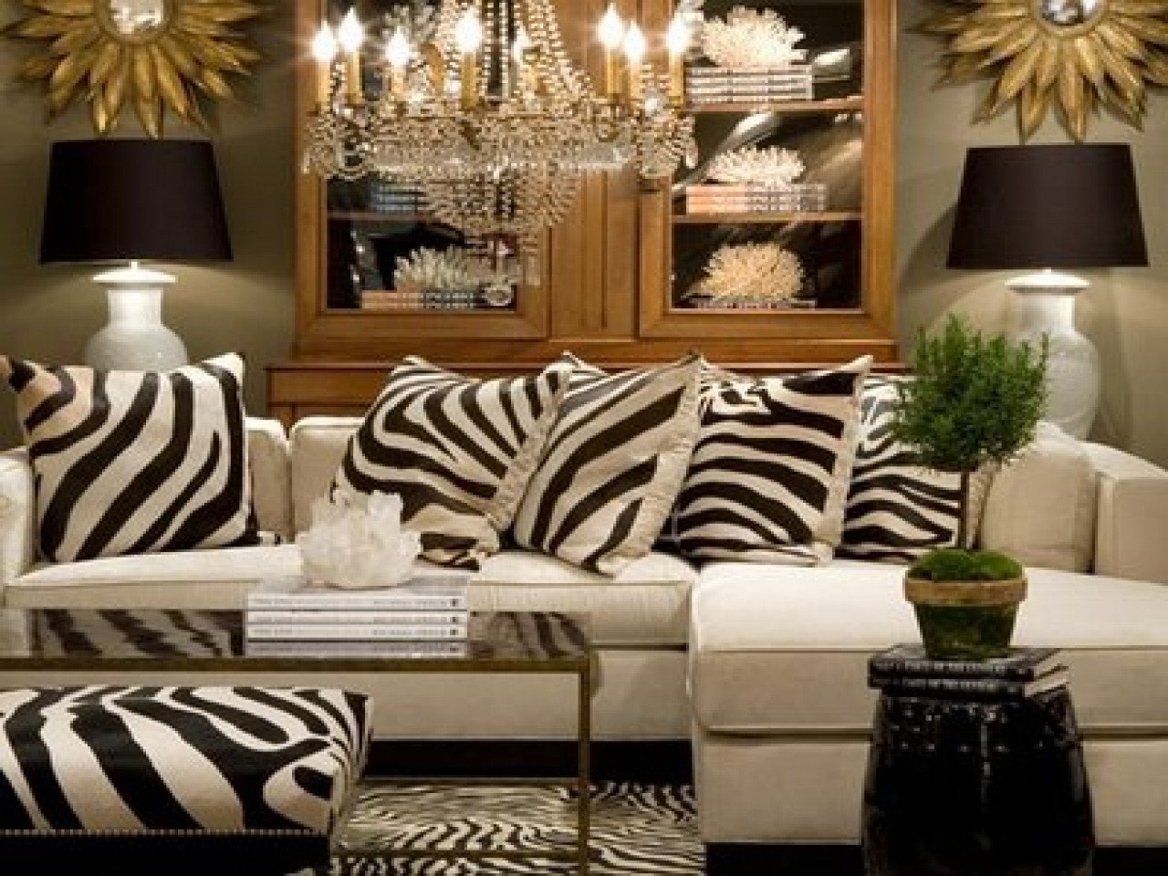 Zebra Decor for Living Room Pink Leopard Rug orange Living Room Decorating Ideas