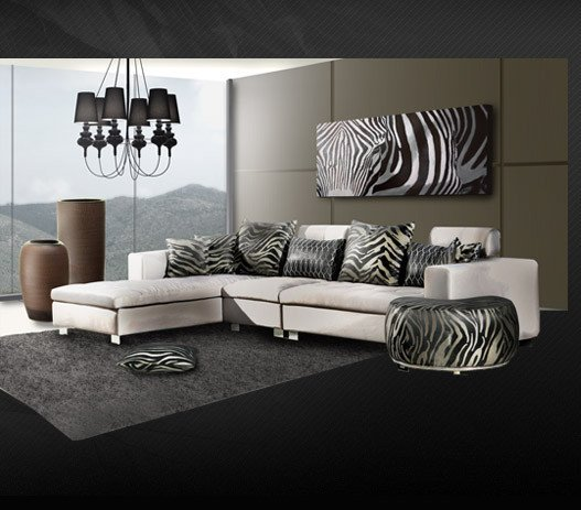 Zebra Decor for Living Room Zebra Print Living Room Decor Zion Star