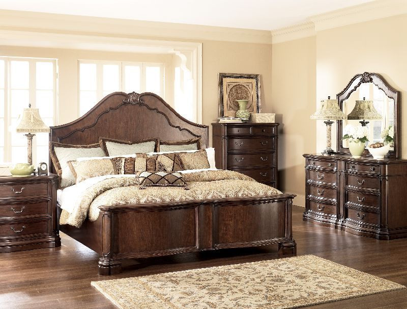Ashley Millennium Bedroom Set $2 199 99 Millennium by ashley Camilla King Panel Bedroom
