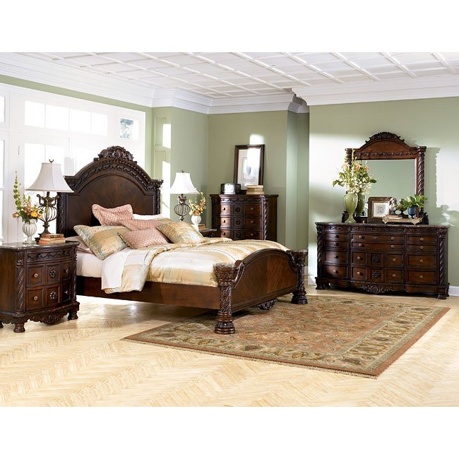 Ashley Millennium Bedroom Set north Shore Panel Bedroom Set Millennium