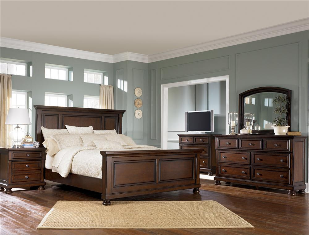 Ashley Millennium Bedroom Set Porter 697 by ashley Furniture Gill Brothers Furniture